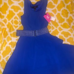 Cute Girls Blue dress with tags. In New condition